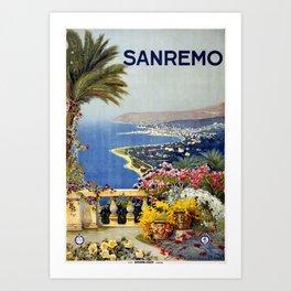 San Remo Art Print