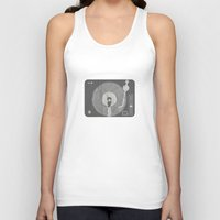 afro Tank Tops featuring afro deck by Vin Zzep