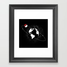 Pokemoon V2 Framed Art Print