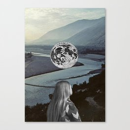 Moon Valley Dreaming Canvas Print