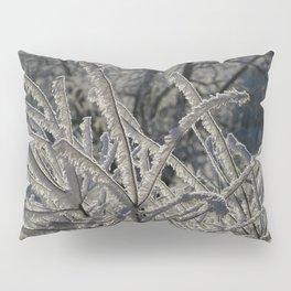Ice Crystals Pillow Sham