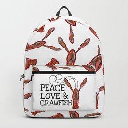 Peace, Love & Crawfish II Backpack