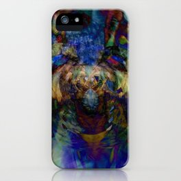 Mardi Gras Lhama iPhone Case