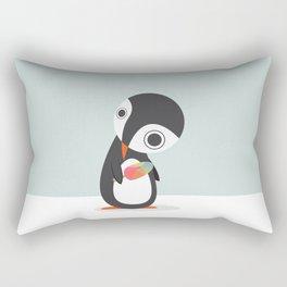 Pingu Loves Icecream Rectangular Pillow
