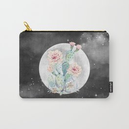 Cactus Nights Prettiest Cactus Full Moon by Nature Magick Carry-All Pouch