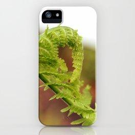 Folding Fern iPhone Case