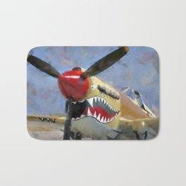 Curtis P-40 Bath Mat