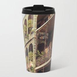 New Orleans Royal Street Balconies Travel Mug