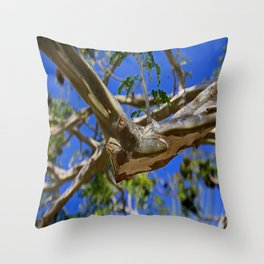 Crazy Elbow Throw Pillow
