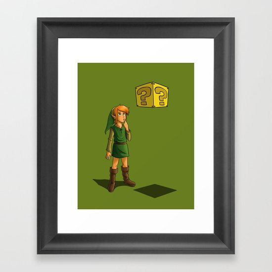 What Do I Do With This? (Part 1) Framed Art Print