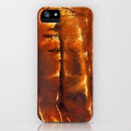 Lighting the Night iPhone Case