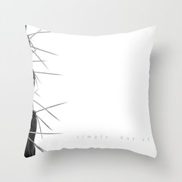 Simple - but effective. Throw Pillow