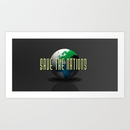 Save the Nations Art Print