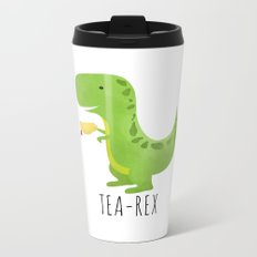 Tea-Rex Metal Travel Mug