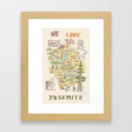 Yosemite Adventure Framed Art Print