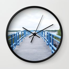 Harbor Bridge Wall Clock