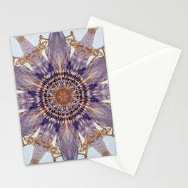 Passion Flower Mandala Stationery Cards