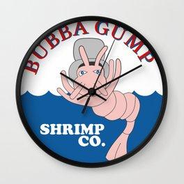 Bubba Gump Shrimp Co Wall Clock