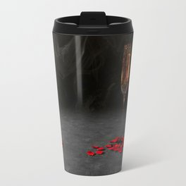 Romantic Champagne & Rose Petals Travel Mug