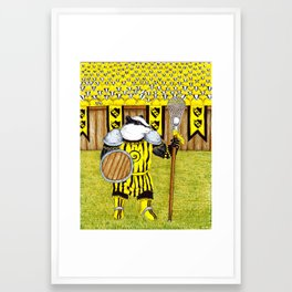 Knockalod Eulalia, Champion of Bazzlenoor Framed Art Print