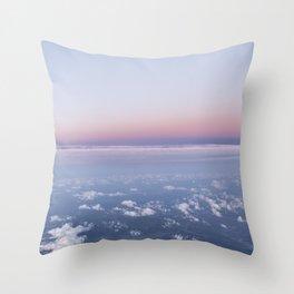 Pastel Skys Throw Pillow