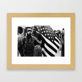 Vote Now! - 60s, civil rights Framed Art Print