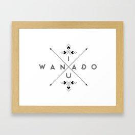 IWANADOU Framed Art Print