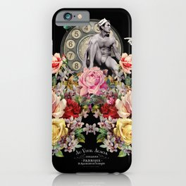 Nuit des Roses Revisited for Him iPhone Case