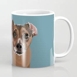 Another Cute Pup : Miss Molly Coffee Mug