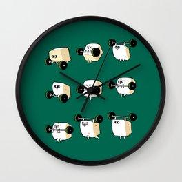 OLYMPIC LIFTING  Tofu Wall Clock