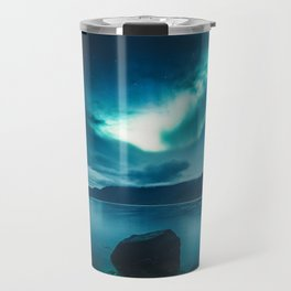 Aurora Borealis (Northern Polar Lights) Travel Mug