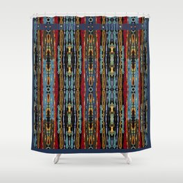 SOUTHWESTERN ABSTRACT DESIGN Shower Curtain