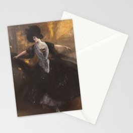 Albert von Keller 1844 Gais - Munich 1920 young dancer Stationery Cards