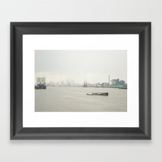 London Skyline Framed Art Print