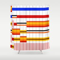 saga Shower Curtains featuring The Saga Begins by Whytes Online
