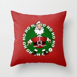 Santa Claus: Ho Ho Ho Throw Pillow