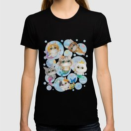 Purrmaids - cute cat mermaids T-shirt