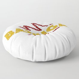 BAZINGA ! Floor Pillow
