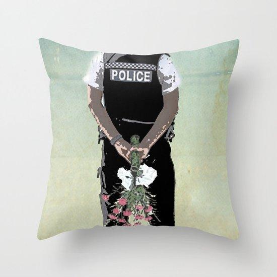 long arm Throw Pillow