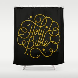 Holy Bible Shower Curtain