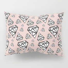 Diamonds are a girl's best friend Pillow Sham