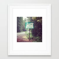 oregon Framed Art Prints featuring oregon.  by heaven mcarthur