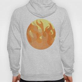 Pastel Flames Hoody