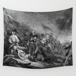 The Battle of Bunker Hill Wall Tapestry