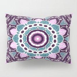 Mandala Purple Pillow Sham