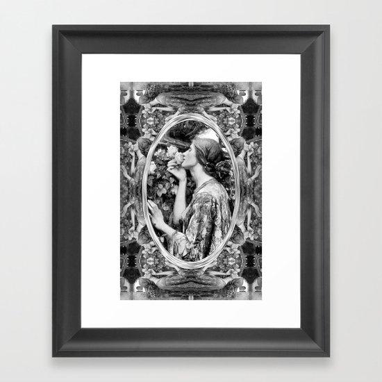 Soul Rose Framed Art Print