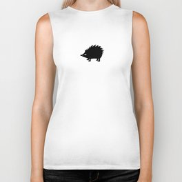 Angry Animals: hedgehog Biker Tank