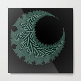Oblique Creation Metal Print