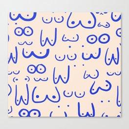 Boobies Canvas Print