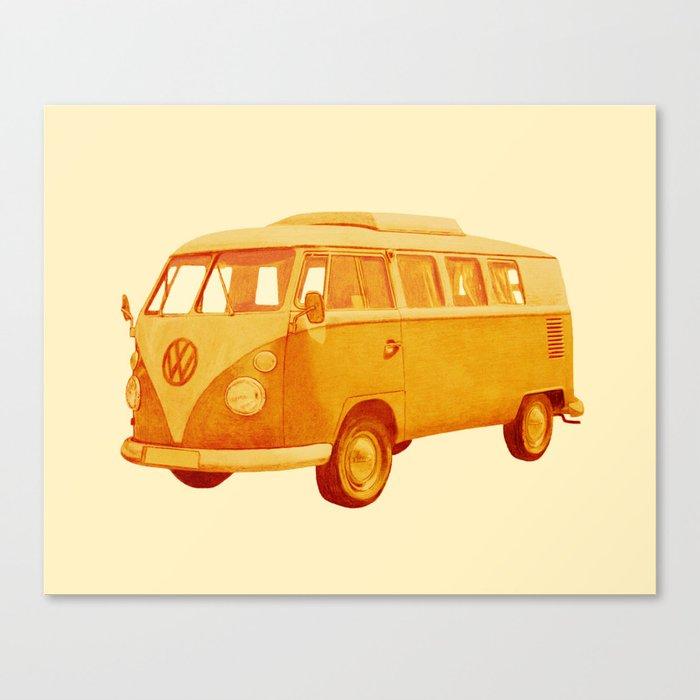 Summer Ride Canvas Print